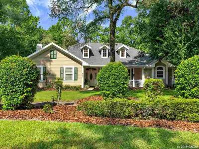 Gainesville Single Family Home For Sale: 5904 SW 89th Drive