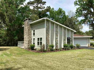 Alachua Single Family Home For Sale: 11002 creek drive