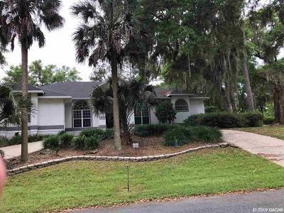 Alachua Single Family Home For Sale: 11135 Palmetto Boulevard