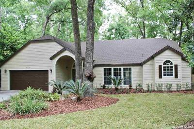 Gainesville Single Family Home For Sale: 10308 SW 55TH Place