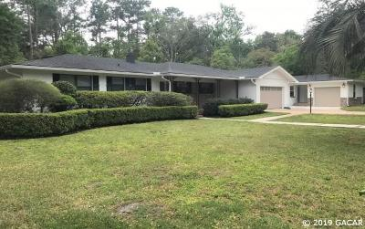 Gainesville Single Family Home For Sale: 300 SW 41 Street