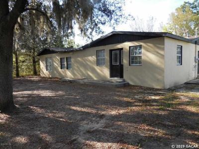 Williston Single Family Home Pending: 13325 NE 50TH Place