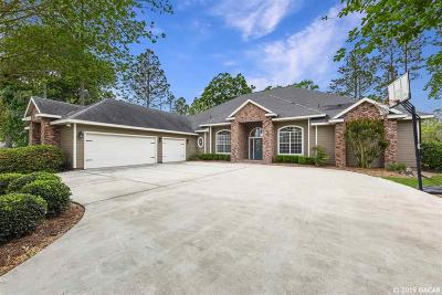 Alachua Single Family Home For Sale: 6574 NW 115TH Lane