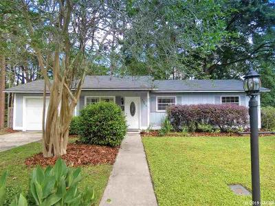 Gainesville Single Family Home Pending: 2346 NW 54TH Boulevard