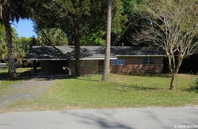 Williston FL Single Family Home For Sale: $120,000