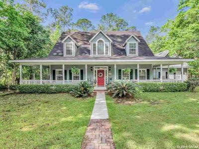Gainesville Single Family Home For Sale: 1710 NW 107th Terrace