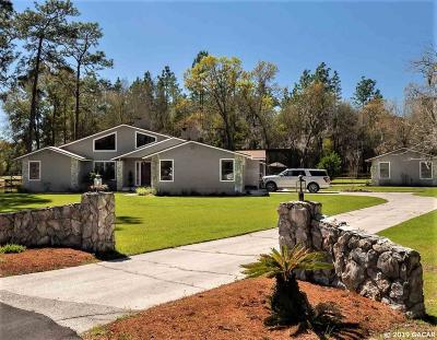 Gainesville Single Family Home For Sale: 8209 SW 95TH Lane