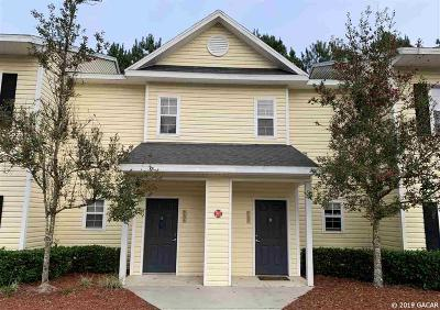 Gainesville Condo/Townhouse For Sale: 4551 NW 49TH Street #104