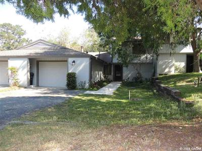 Gainesville Condo/Townhouse For Sale: 1654 NW 19TH Circle