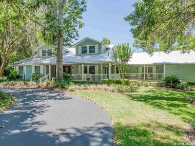 Gainesville Single Family Home For Sale: 4802 NW 71 Boulevard