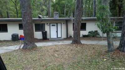 Gainesville Single Family Home For Sale: 503 NW 37TH Avenue