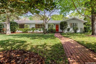 Gainesville Single Family Home For Sale: 805 NW 21ST Terrace