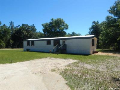 Williston FL Single Family Home For Sale: $65,000