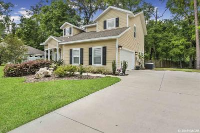 Gainesville Single Family Home For Sale: 1874 SW 66th Drive