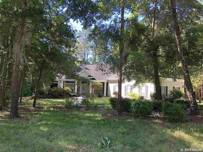 Gainesville Single Family Home For Sale: 10327 SW 17th Place