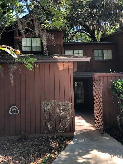 Gainesville Condo/Townhouse For Sale: 805 SW 55 Terrace