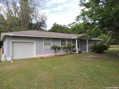 Gainesville FL Single Family Home For Sale: $169,900