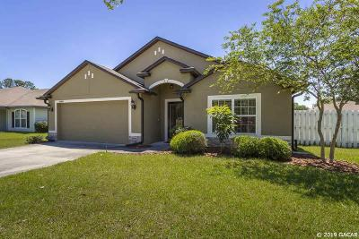 Gainesville Single Family Home For Sale: 11867 NW 12TH Avenue