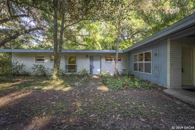 Gainesville Single Family Home For Sale: 4219 SW 7th Avenue