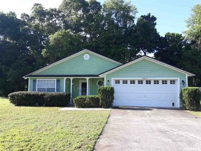 Alachua Single Family Home For Sale: 13461 NW 135TH Drive