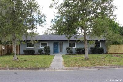 Gainesville Single Family Home For Sale: 4017 NW 36th Terrace