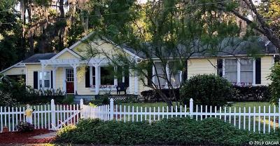 Micanopy Single Family Home Pending: 18224 SE County Road 225