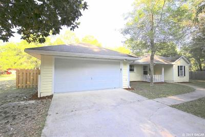 Gainesville Single Family Home Pending: 9727 SW 122nd Street