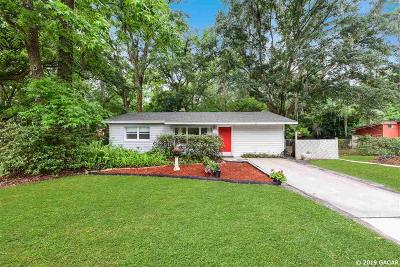 Gainesville FL Single Family Home For Sale: $129,000