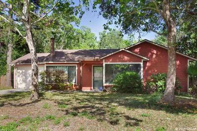 Gainesville FL Single Family Home For Sale: $137,900