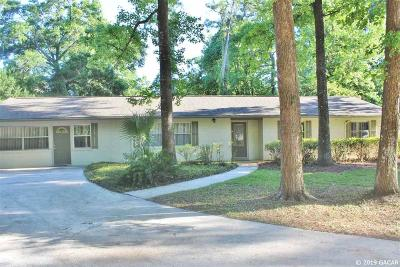 Gainesville Single Family Home For Sale: 3801 NW 9TH Place