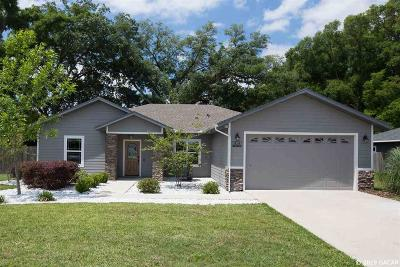 Newberry Single Family Home Pending: 914 NW 233rd Drive