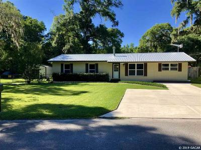 Newberry Single Family Home For Sale: 26417 SW 4th Road