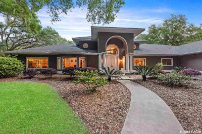 Newberry Single Family Home Pending: 15206 SW 15 Avenue