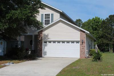 Alachua Single Family Home For Sale: 6528 NW 109th Place