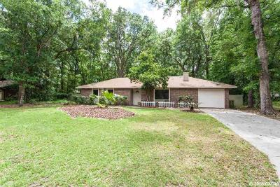 Gainesville Single Family Home For Sale: 5037 NW 65th Lane