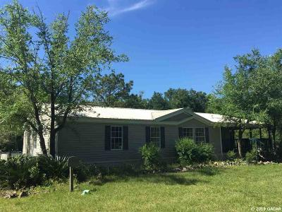Newberry Single Family Home For Sale: 21511 NW 56 Place