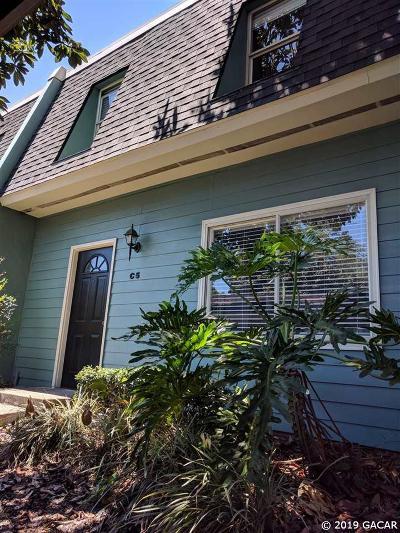 Gainesville Condo/Townhouse Pending: 501 SW 75 Street #C-5