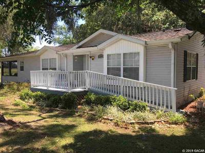 Williston Single Family Home Pending: 18850 NE 12th Lane