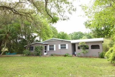 Chiefland Single Family Home For Sale: 7630 NW 115th Street