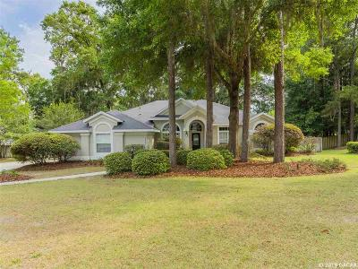 Gainesville Single Family Home For Sale: 10405 SW 23rd Avenue