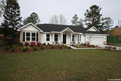High Springs Single Family Home For Sale: 21456 NW 216TH