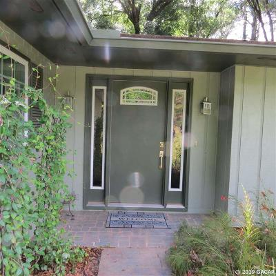 Gainesville Single Family Home For Sale: 1816 NW 57th Terrace