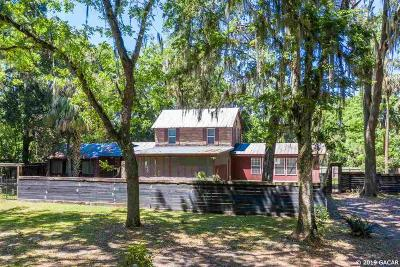 Micanopy Single Family Home For Sale: 723 SE 138TH Avenue