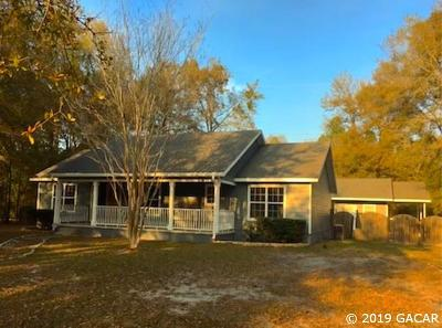 Newberry Single Family Home Pending: 2725 NW 244 Street