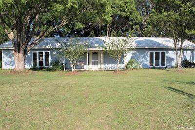 Alachua Single Family Home For Sale: 15129 NW 89TH Street