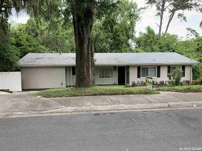 Gainesville Single Family Home For Sale: 1422 NW 7th Road