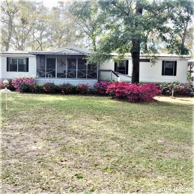 Steinhatchee Single Family Home For Sale: 1613 NE Central Avenue