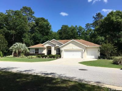Dunnellon Single Family Home For Sale: 8241 SW 194 Avenue