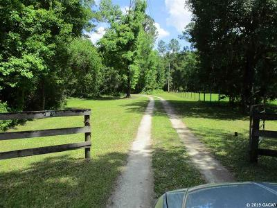Micanopy Single Family Home For Sale: 12811 SE County Road 234