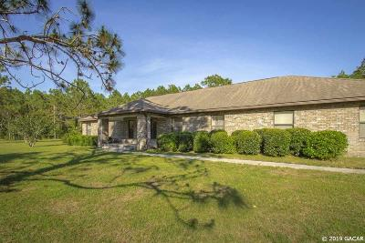 Alachua Single Family Home For Sale: 12751 NW 150 Terrace